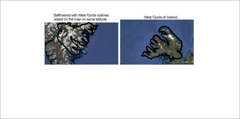 West Fjords of Iceland and Baffinsland