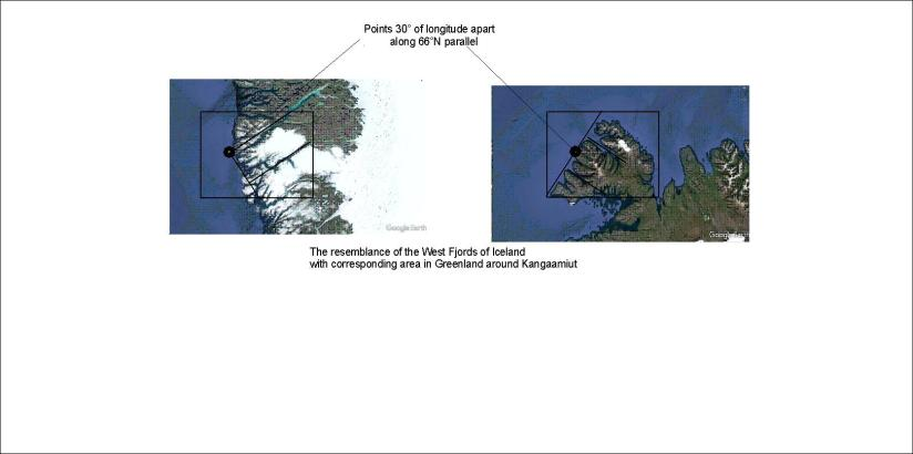 West Fjords of Iceland and West Coast of Greenland
