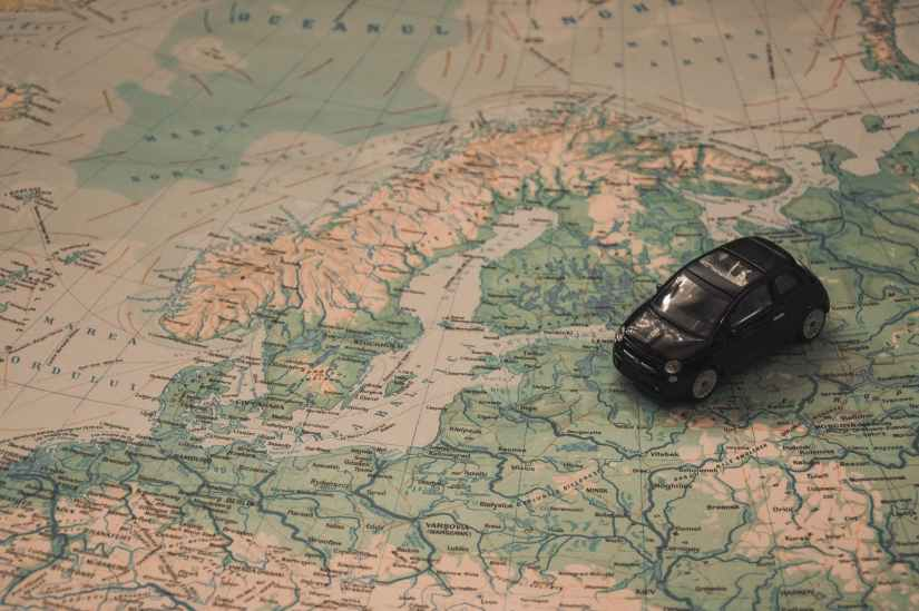 holidays car travel adventure