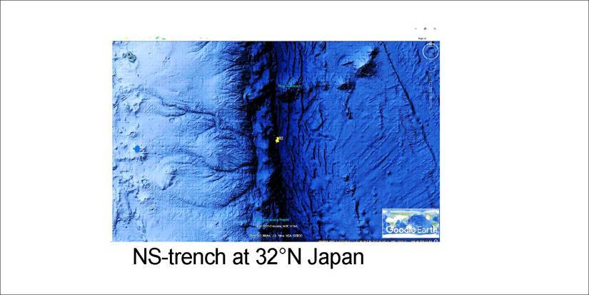 Japan NS at 32N