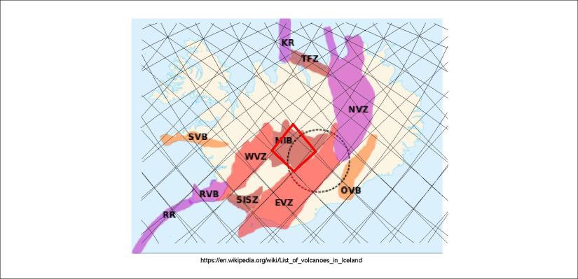 Volcanic zones - MIB