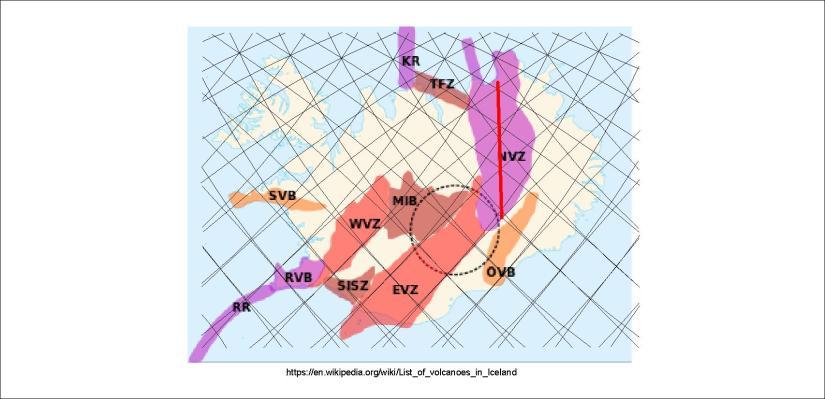 Volcanic zones - NVZ 01