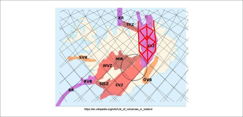 Volcanic zones - NVZ 03