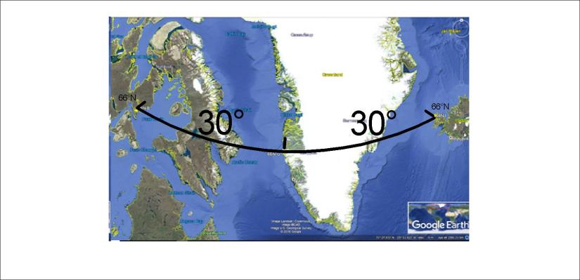 Kanada-Greenland-Iceland at 66N